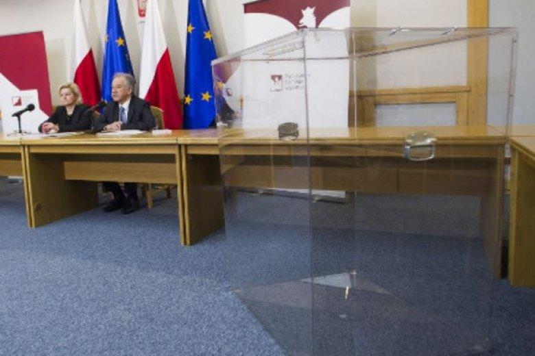 Przezroczyste urny są już stosowane podczas wyborów w Polsce