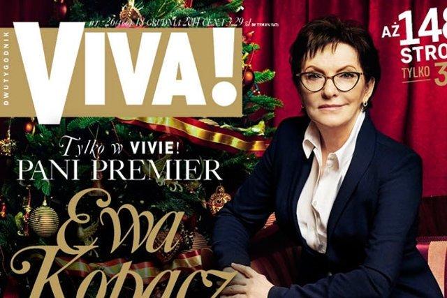 Kancelaria Premiera jest niezadowolona z tego, że przy zdjęciach Ewy Kopacz pojawiły się nazwy ubrań,  w których pozowała