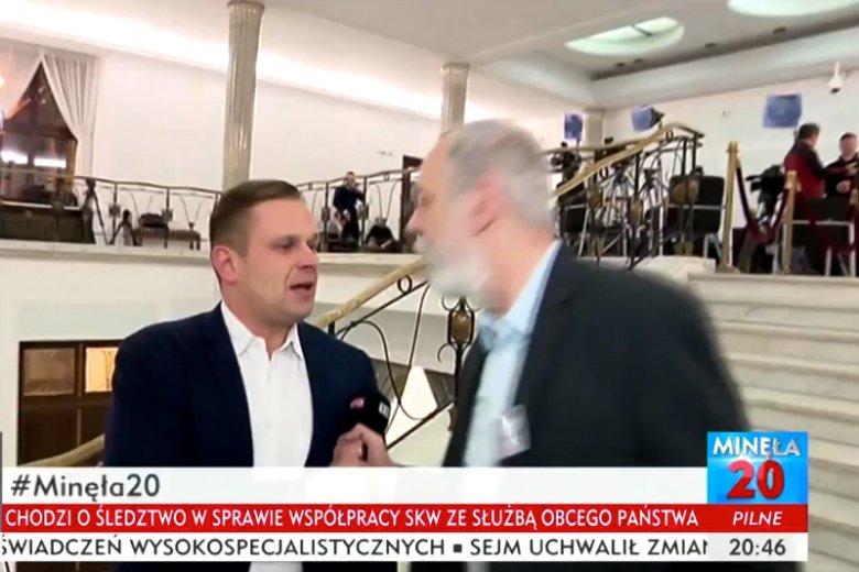 Rafał Grupiński z PO nie wytrzymał w rozmowie z Łukaszem Sitkiem z TVP Info