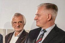 Jarosław Gowin się cieszy, ale Ryszardowi Terleckiemu chyba nie jest do śmiechu.