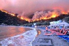 Rośnie liczba ofiar pożarów w Grecji.
