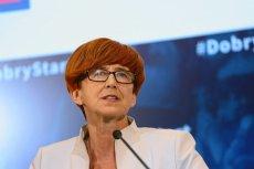 Elżbieta Rafalska oznajmiła, że zasiłek pielęgnacyjny wzrośnie po raz pierwszy od 12 lat.