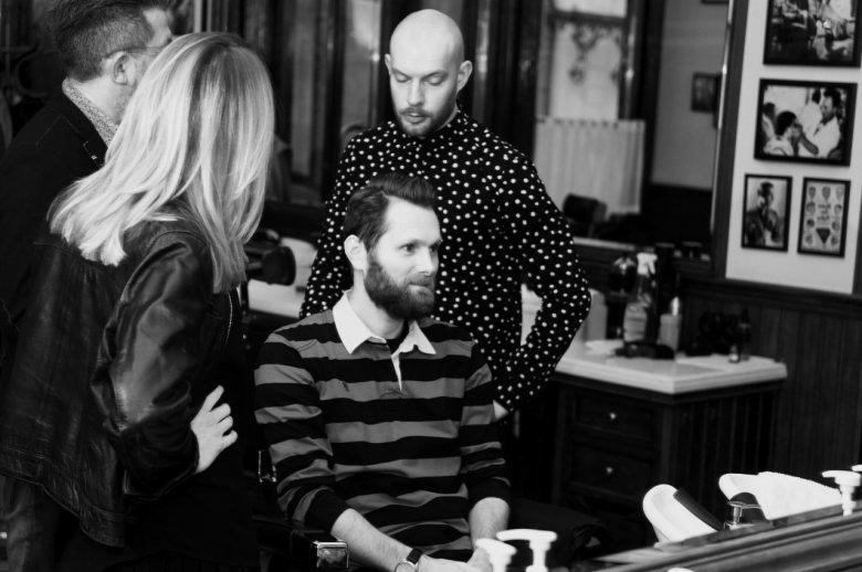 Z Pascalem rozmawiamy o nowej fryzurze dla Łukasza.
