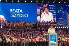 Beata Szydło miała dość niecodzienne priorytety podczas przemówienia.
