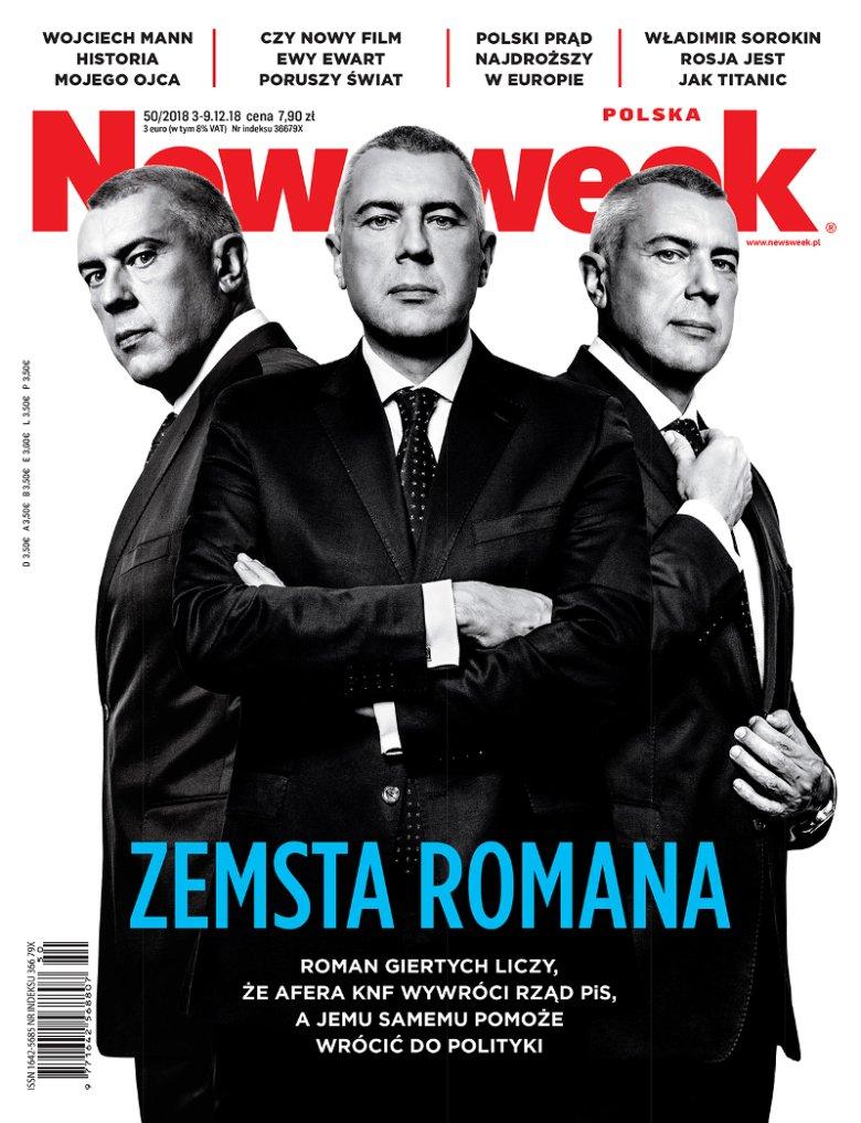 W najnowszym Newsweeku przeczytamy również o powrocie Romana Giertycha na polityczną scenę.