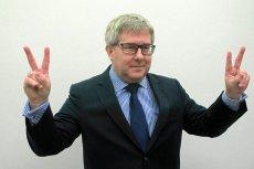 Ryszard Czarnecki weźmie udział w specjalnej misji Parlamentu Eruopejskiego