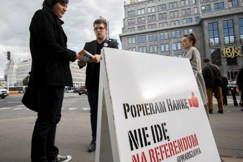 """""""To referendum nie ma sensu"""" - piszą w liście artyści"""