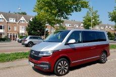 Volkswagen Multivan to wygodne auto dla sporej rodziny.
