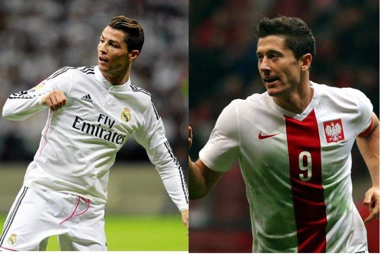 Ronaldo kontra Lewandowski, czyja fryzura lepsza? Wkrótce starcie najbardziej uczesanych piłkarskich gwiazd.