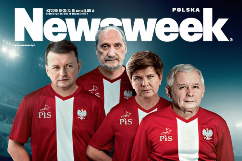 """Dziennikarze """"Newsweeka"""" pokazują, kto najprawdopodobniej obejmie ważne stanowiska w kraju, po wygranej Prawa i Sprawiedliwości."""