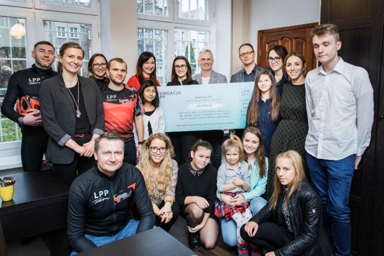 Fundacja LPP i Fundacja Rodzinny Gdańsk - współpraca trwa już od kilku lat