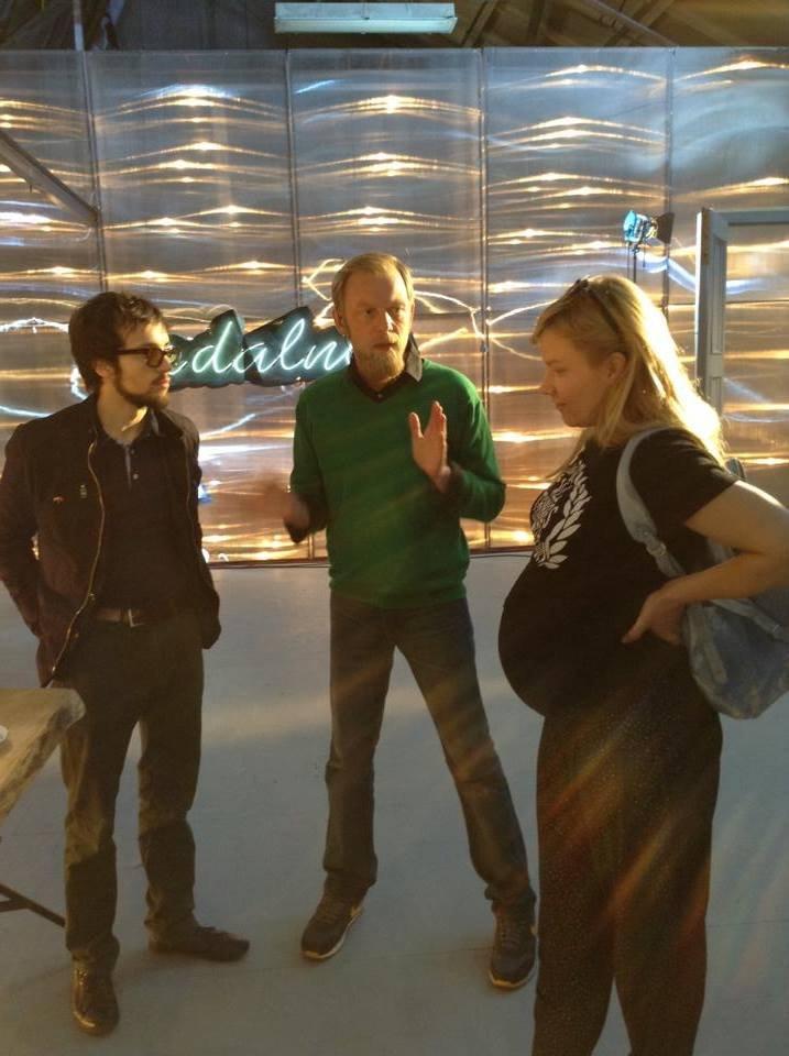 """W 9 miesiącu ciąży, na planie """"Hali odlotów"""" w TVP kultura"""