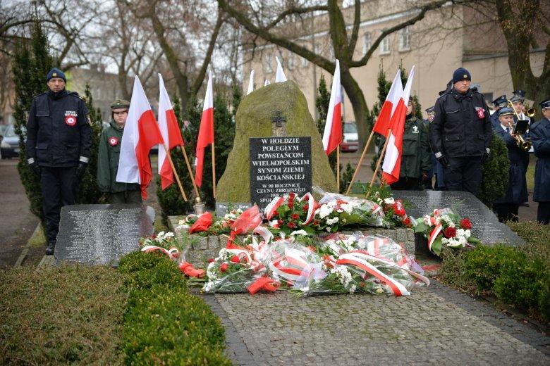 Obchody Powstania Wielkopolskiego w Kościanie - z dala od bieżącej polityki.