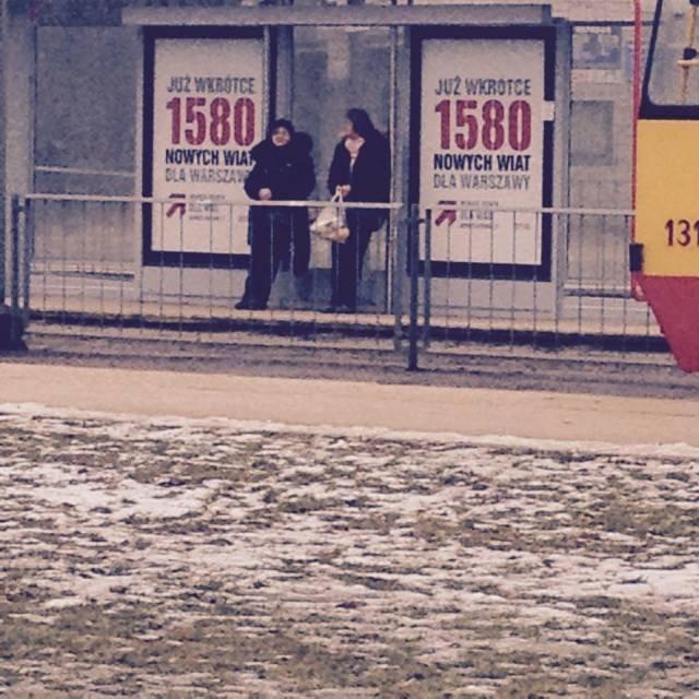 Nowe wiaty przystankowe w Warszawie z pochylonymi ławkami. Mieszkańcy są ... zadowoleni?