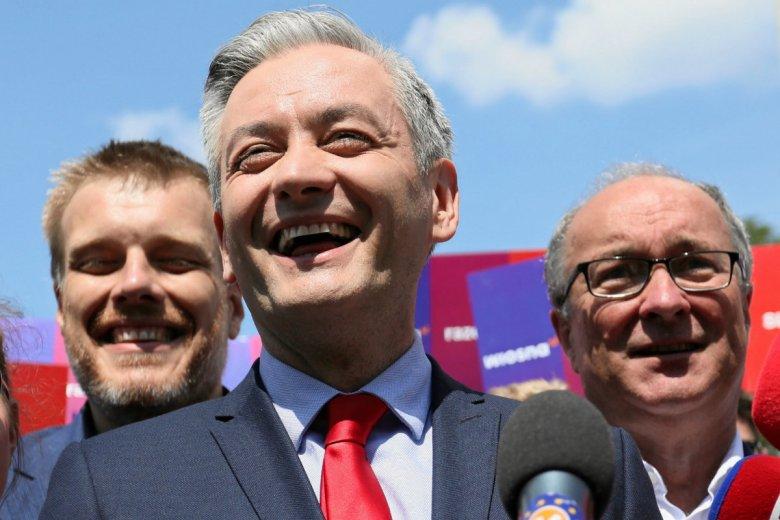 Robert Biedroń, Adrian Zandberg i Włodzimierz Czarzasty zapowiedzieli, że idą po zwycięstwo w wyborach parlamentarnych.