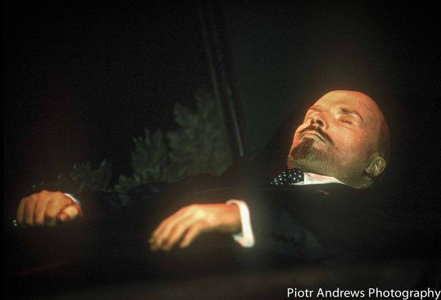 Mumia Lenina w Mauzoleum.