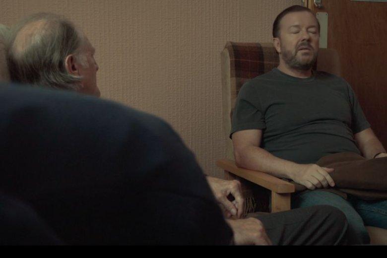 Tony odwiedza ojca w domu starców.
