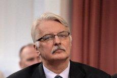 Witold Waszczykowski zapowiadał opublikowanie dowodów na to, że za śmierć prezydenta Kaczyńskiego odpowiadają politycy PO. Jak na razie skończyło się na insynuacjach.