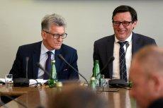 Poseł Marek Ast zastąpił Stanisława Piotrowicza na stanowisku przewodniczącego sejmowej komisji sprawiedliwości.