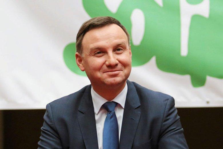 Kandydat PiS na prezydenta Andrzej Duda ostrzegał przed zagrożeniem dla polskiej ziemi.