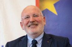 Frans Timmermans dostał od ECS Medal Wdzięczności. Nie spodobało się to gdańskiemu politykowi PiS Kacprowi Płażyńskiemu.