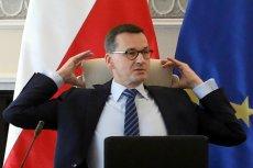 """Mateusz Morawiecki powiedział o """"podpompowaniu"""" taśm."""