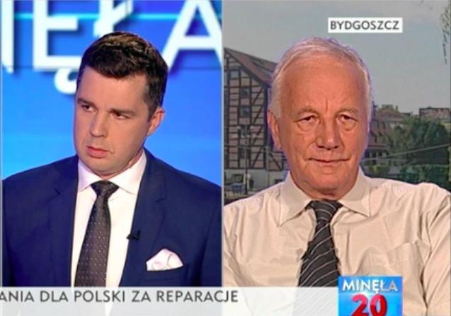 """Jan Rulewski bojkotuje TVP po programie """"Minęła dwudziesta"""""""