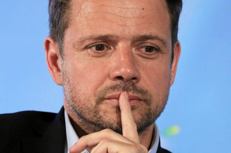Zachowanie Rafała Trzaskowskiego nie podoba się pozostałym członkom PO.