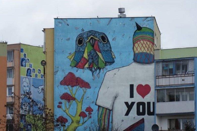 Murale na gdańskiej Zaspie