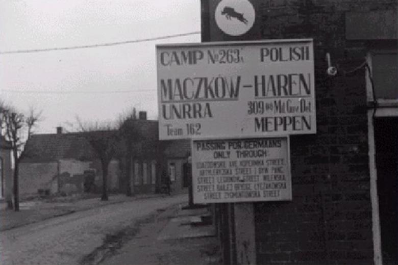 Maczków - polska enklawa w okupowanych Niemczech.