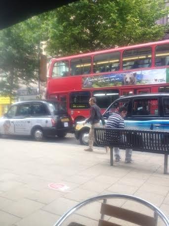 London Bus. London Cab.