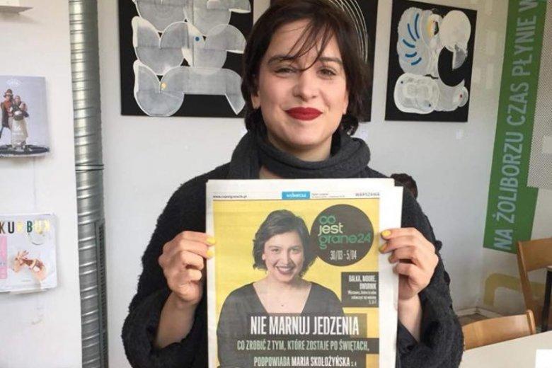 """Maria Skołożyńska, pomysłodawczyni akcij """"Podziel się posiłkiem z bezdomnym"""""""