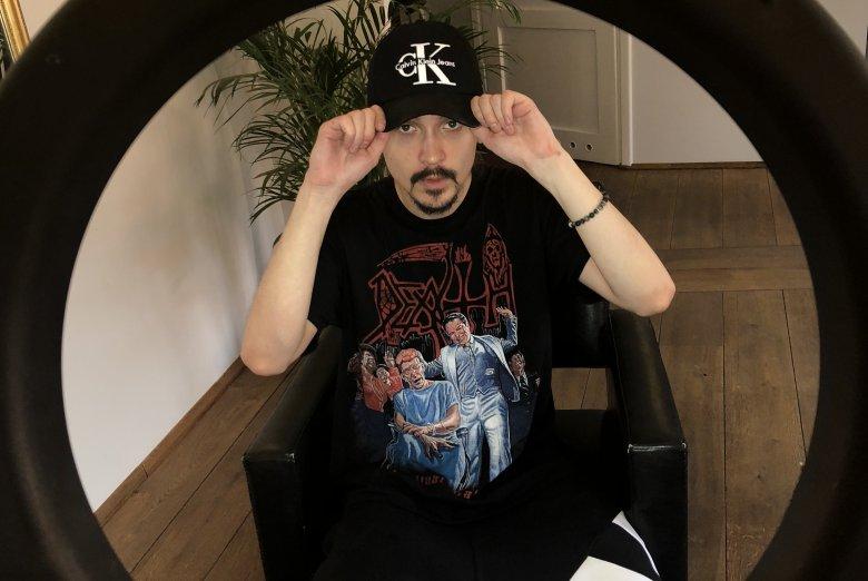Borys Kaltermann to fryzjer raperów.