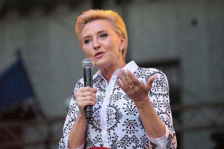 Agata Kornhauser-Duda miała po cichu mediować z przedstawicielami PiS ws. strajku szkolnego.