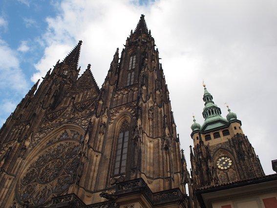 Katedra św. Wita. Podobno jest tu najsilniejsze miejsce mocy na świecie.