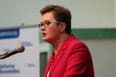 Katarzyna Lubnauer od roku stoi na czele Nowoczesnej.