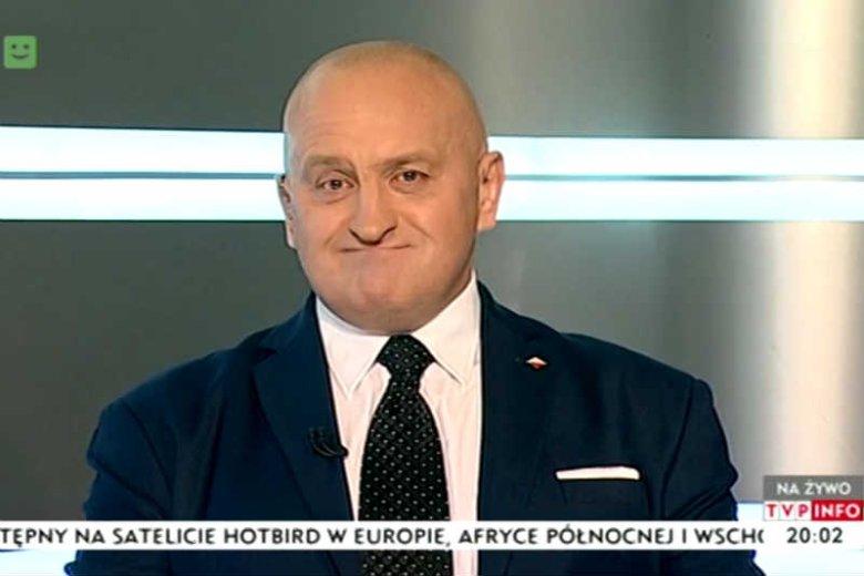 Marian Kowalski wystąpił w TVP INFO chyba tylko dlatego, że nienawidzi KOD.