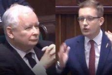 Robert Winnicki przez 120 sekund uderzał w Sejmie w Prawo i Sprawiedliwość.