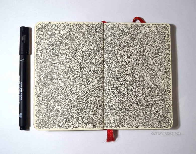 Kerby Rosanes, Sketchy Stories