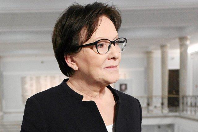 Ewa Kopacz została przesłuchana przez Prokuraturę Krajową w sprawie sekcji zwłok ofiar katastrofy smoleńskiej.