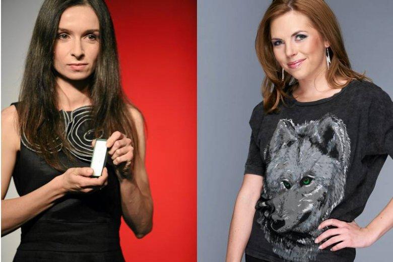 Marta Kaczyńska i Ola Kwaśniewska