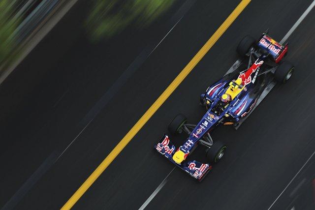Mark Webber wystartuje z pierwszej pozycji