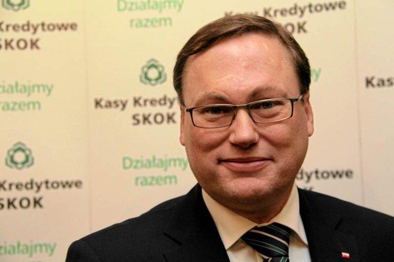 Grzegorz Bierecki, senator i prezes SKOK