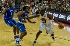 Koby Bryant podczas meczu USA - Dominikana 113:59 (13 VII 2012)