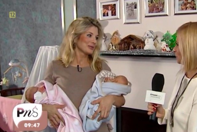 Bizneswoman przekonuje, że nawet dla milionerki  pojawienie się szóstego dziecka  to niemały wydatek.