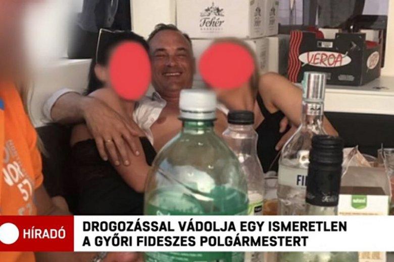 Po skandalu z orgią na jachcie Zsolt Borkai , mer Győr, zrezygnował ze stanowiska.