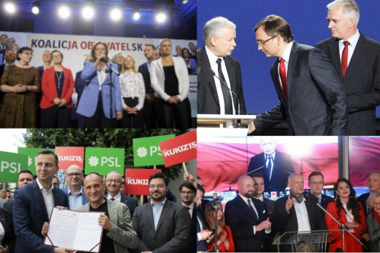 W Sejmie tak naprawdę znalazło się... 15 partii.