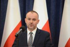 Paweł Mucha kuriozalnie wyjaśnił wynik senackiego głosowania nad referendum.