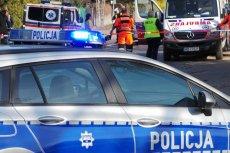 Kobieta podpaliła się w pobliżu pętli tramwajowej Poświętne we Wrocławiu.