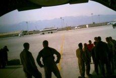 Baza Bagram jest stale atakowana przez talibów.